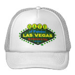 Tenga casquillo del día de Las Vegas un St Patrick Gorros Bordados