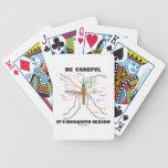 Tenga cuidado él es estación del mosquito (la anat cartas de juego