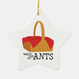Tenga cuidado para las hormigas ornamentos de reyes