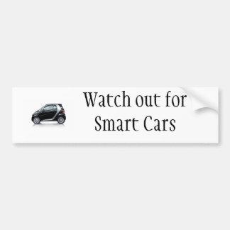 Tenga cuidado para los coches elegantes pegatina para auto