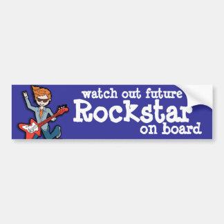 tenga cuidado Rockstar futuro a bordo pegatina Pegatina Para Auto