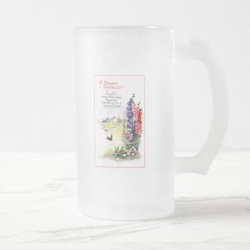Tenga cumpleaños de la ensenada de A Taza De Cristal