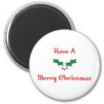 Tenga Felices Navidad Imán Para Frigorifico