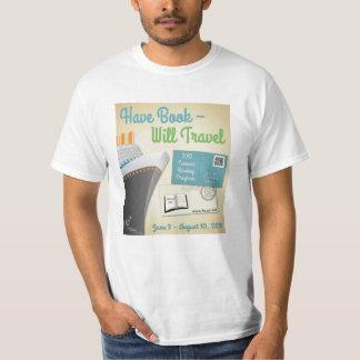 Tenga libro - viajará la camiseta poleras
