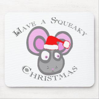 ¡Tenga navidad chillón! Tapetes De Raton