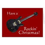 ¡Tenga navidad de un Rockin! Felicitación