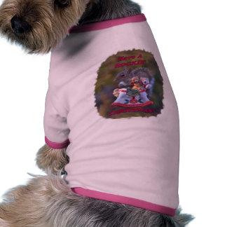 Tenga navidad de un Rockin' Camisas De Perritos
