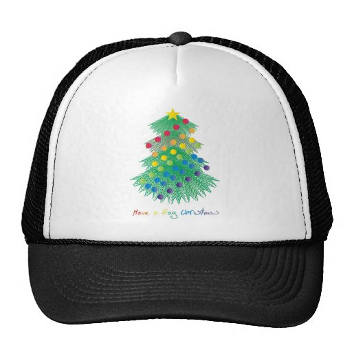Tenga navidad gay gorras