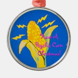 ¡Tenga navidad psíquico de un maíz! Adorno De Navidad