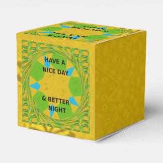Tenga Niza un día y una mejor caja del favor de la Caja Para Regalo De Boda