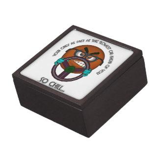 Tenga pacientes detrás de la rueda caja de regalo de calidad