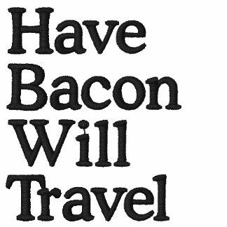 Tenga tocino viajará