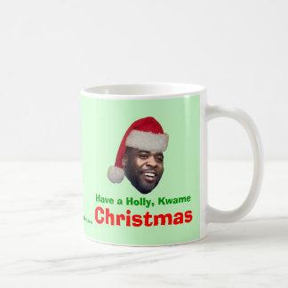 Tenga un acebo Kwame navidad Tazas De Café