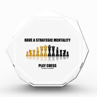 Tenga un ajedrez estratégico del juego de la
