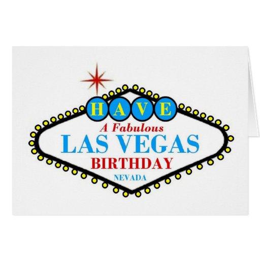 TENGA un azul fabuloso de la tarjeta de cumpleaños