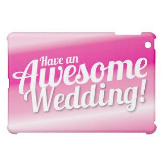 Tenga un boda impresionante
