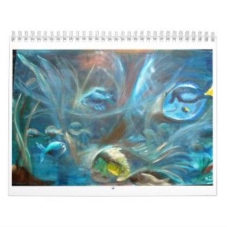 ¡tenga un buen año! calendarios de pared