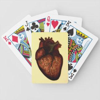 Tenga un corazón baraja cartas de poker