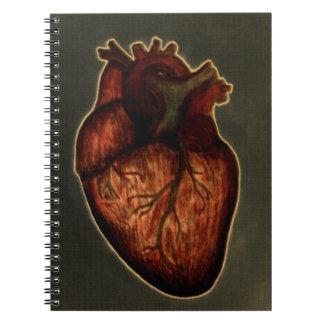 Tenga un corazón libretas