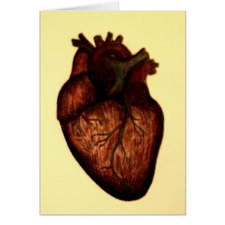 Tenga un corazón tarjeta de felicitación