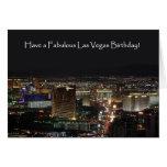¡Tenga un cumpleaños fabuloso de Las Vegas! Tarjet