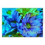 ¡Tenga un cumpleaños fabuloso! Tarjetón