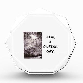 ¡Tenga un día del gneis! (el humor de la geología