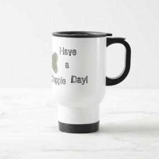 ¡Tenga un día del tipo de pez! Taza De Café