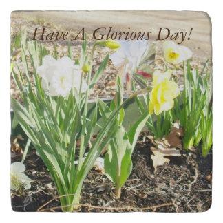Tenga un día glorioso Trivet Salvamanteles