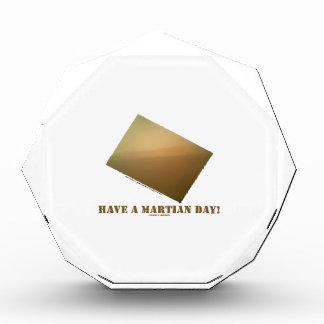 ¡Tenga un día marciano! (Curiosidad marciana del