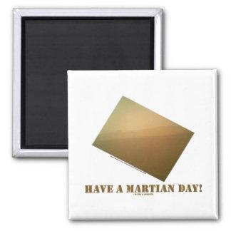 ¡Tenga un día marciano! (Curiosidad marciana del Iman