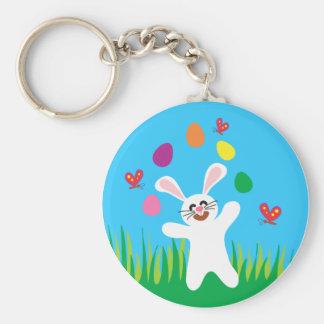 ¡Tenga un Eggtraordinary Pascua! Llavero Redondo Tipo Pin