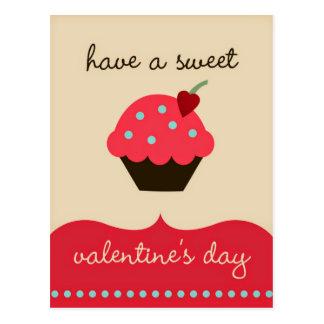 ¡Tenga un el día de San Valentín dulce! Postal