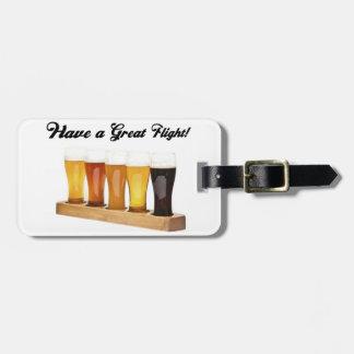 Tenga un gran vuelo etiquetas para maletas