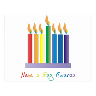 Tenga un kwanza gay tarjeta postal
