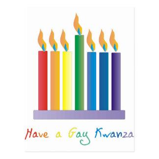 Tenga un kwanza gay tarjetas postales