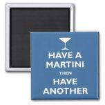 Tenga un Martini Imanes De Nevera