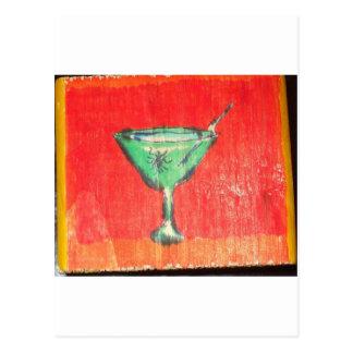 Tenga un Martini un agujero Tarjetas Postales