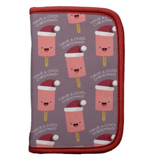 Tenga un modelo feliz del Popsicle del navidad fre Organizador
