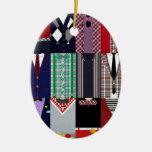 Tenga un ornamento muy apuesto del navidad adorno