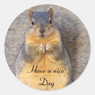 Tenga un pegatina agradable de Day_