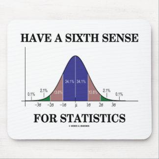Tenga un sexto sentido para la curva de Bell de Alfombrillas De Ratones