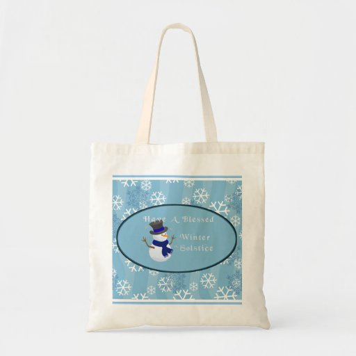 Tenga un solsticio de invierno bendecido bolsa