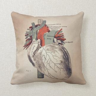 Tenga una almohada de tiro del corazón
