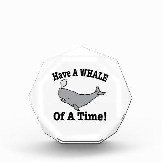 Tenga una ballena