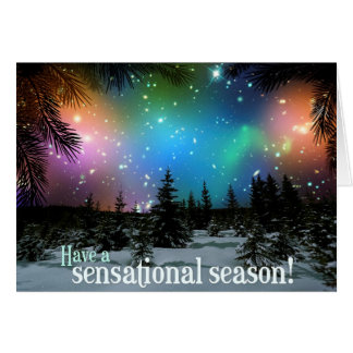 ¡Tenga una estación sensacional! Telescopio espaci Felicitacion
