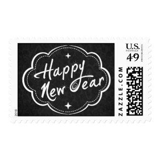 Tenga una Feliz Año Nuevo Franqueo