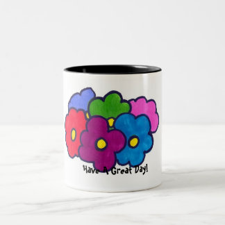 Tenga una gran taza del día