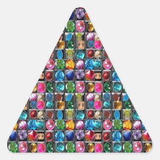 Tenga una mirada cercana, usted encontrará UN Colcomanias Trianguladas Personalizadas