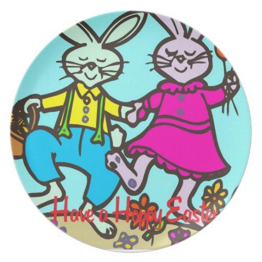 Tenga una Pascua de lúpulo Platos